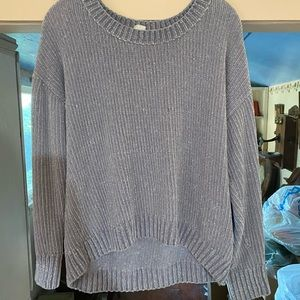 Slate Color Gap Sweater